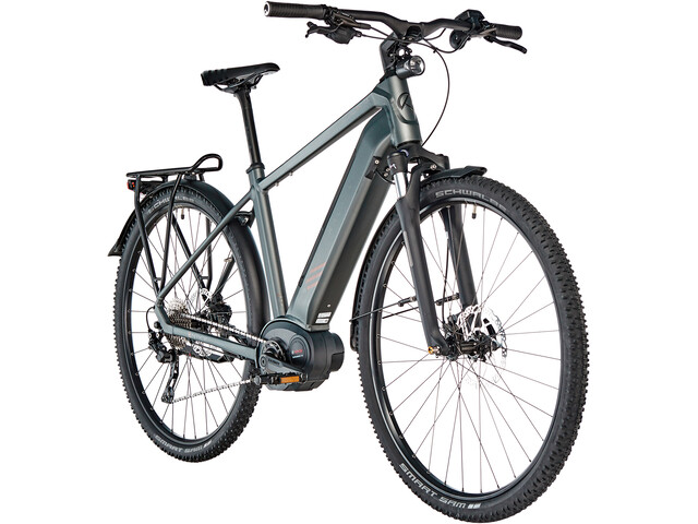 Kalkhoff Entice 5.B Tour E-trekkingcykel Diamant 500Wh beige/sort (2019) | City